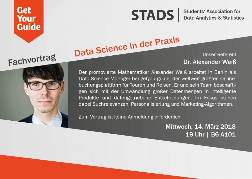 Fachvortrag Data Science in der Praxis