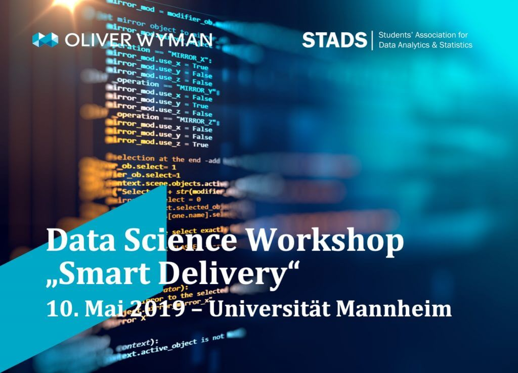 """Data Science Workshop – """"Smart Delivery"""""""