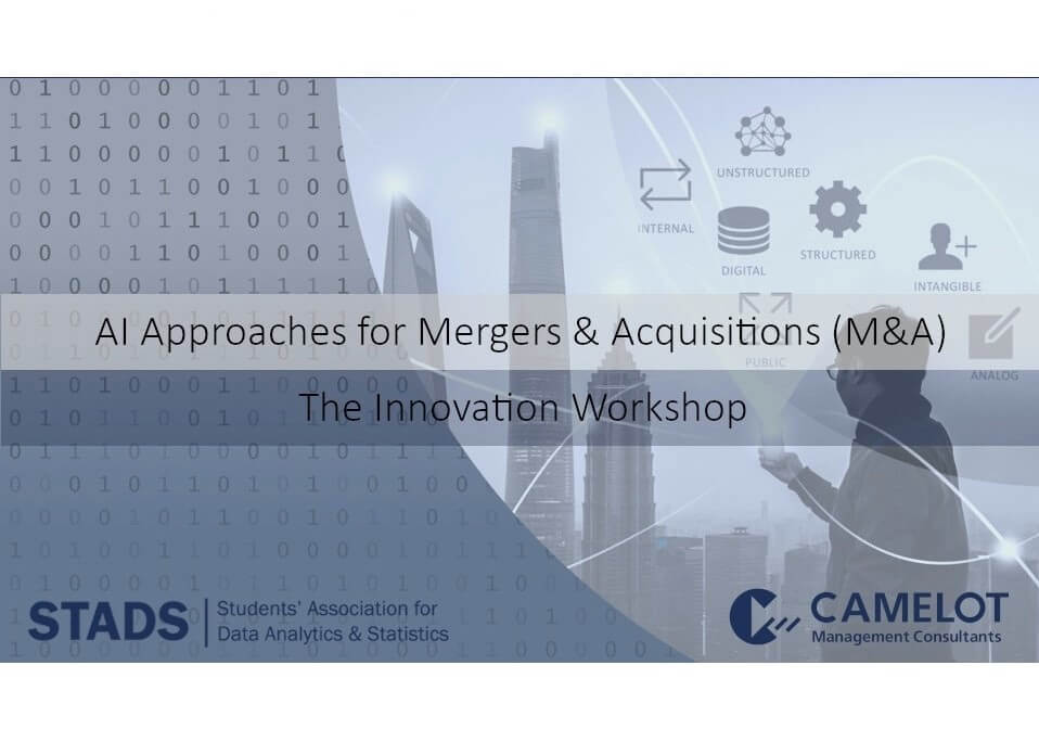 CAMELOT – AI approaches for M&A – Workshop