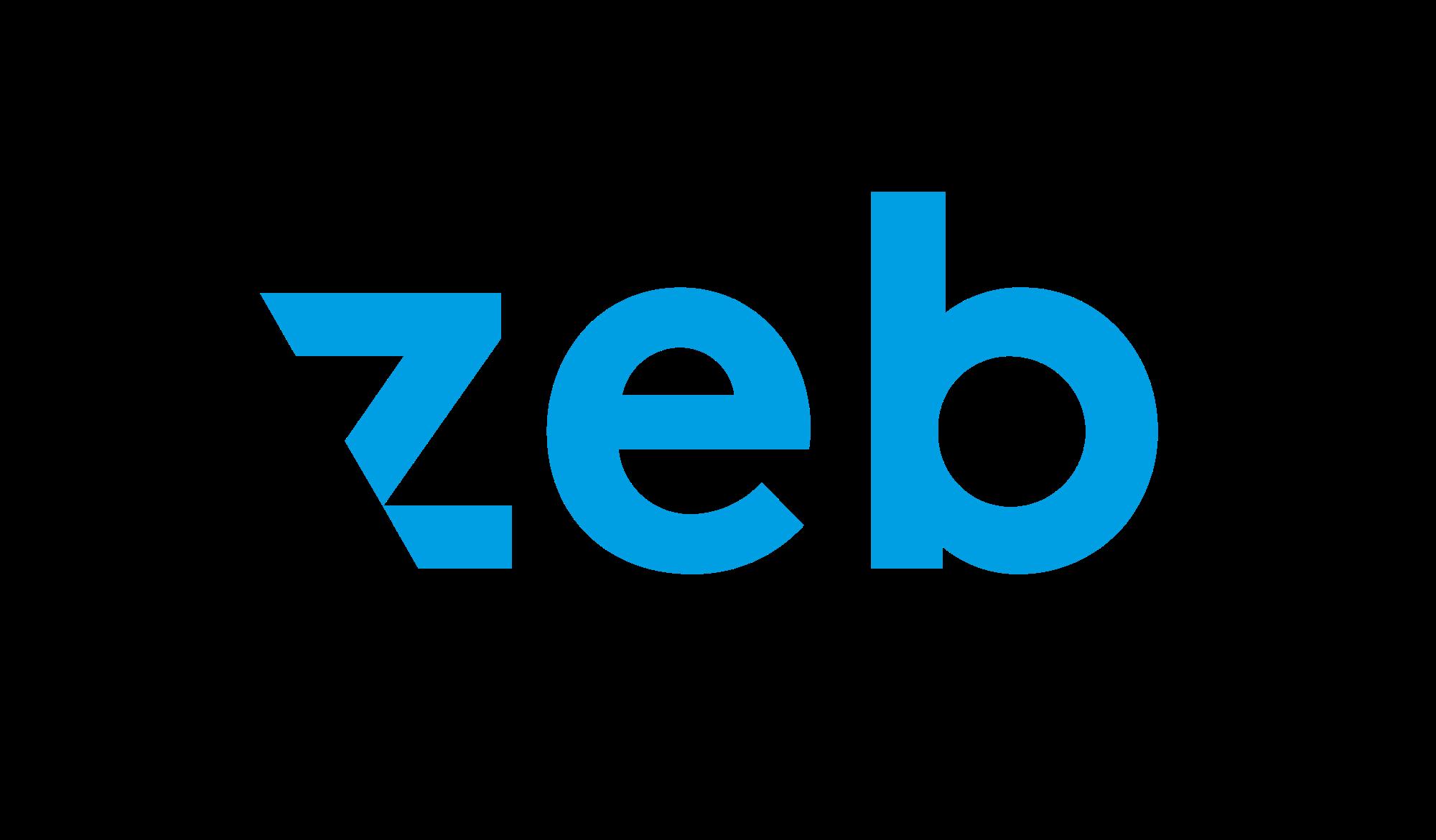 Logo unseres Kooperationspartners zeb